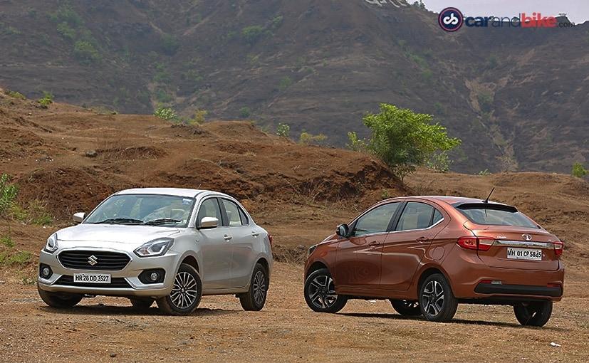 Comparison Review: Maruti Suzuki Dzire vs Tata Tigor