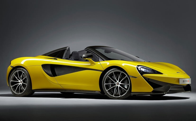 McLaren's New 570S Spider Is The 'Most Attainable' Of Supercars