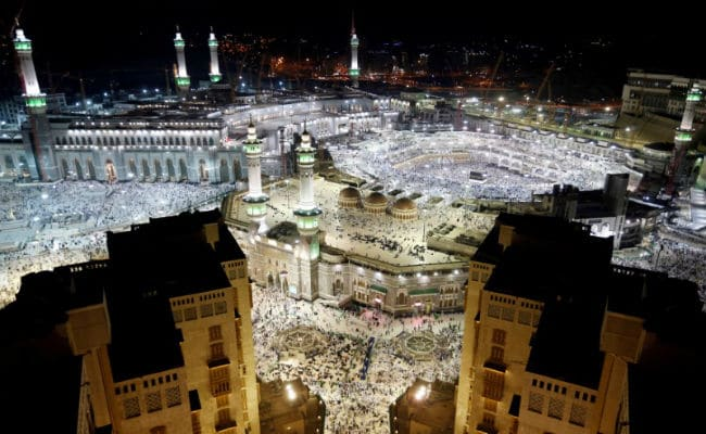 Hotel In Mecca, Saudi Arabia Evacuated After Fire