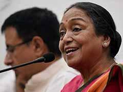 राष्ट्रपति चुनाव : मीरा कुमार ने कहा कि यह दलित बनाम दलित नहीं बल्कि विचारधाराओं के बीच का मुकाबला