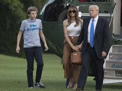 So Long, Trump Tower; Melania Trump, Son Barron, Move Into White House
