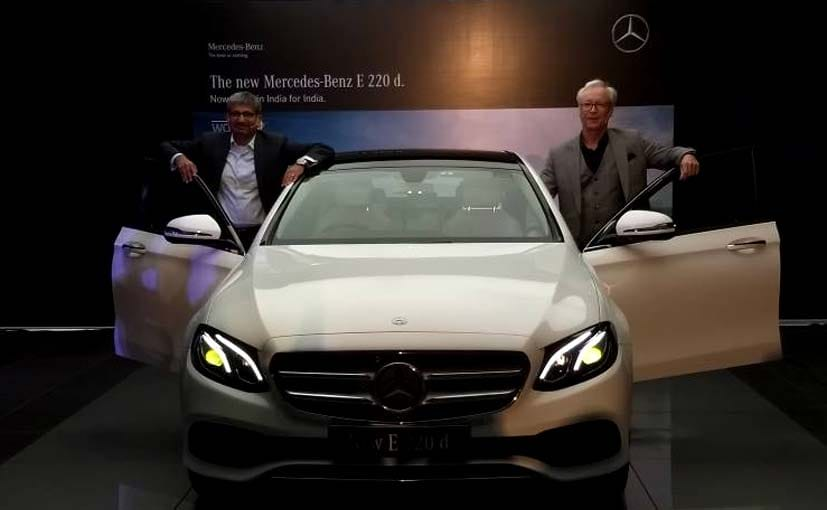 Mercedes-Benz India launches E 220d at Rs 57.14 lakh