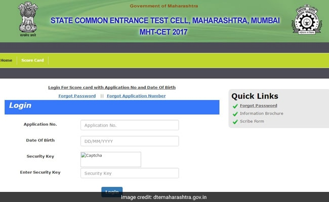 MHT CET 2017 Results, Score Cards: Website Is Back, Check Now @ Dtemaharashtra.gov.in