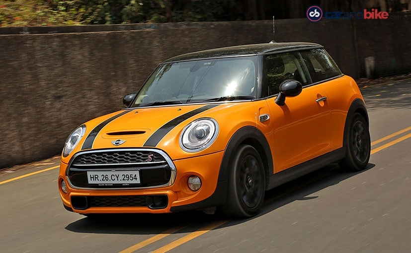 mini cooper s driving and handling