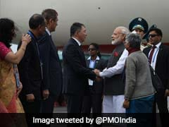 PM Modi Arrives In Astana, India Set For Shanghai Cooperation Organisation Entry