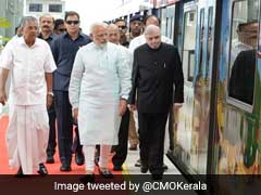 Prime Minister Narendra Modi Launches Kochi Metro, Says Coaches Reflect 'Make In India' Vision