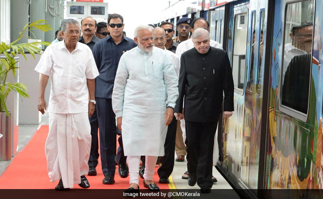 Prime Minister Narendra Modi Launches Kochi Metro, Says Coaches Reflect 'Make In India' Vision