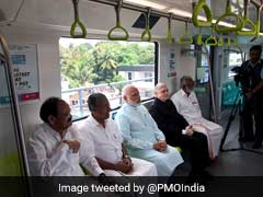Prime Minister Narendra Modi Flags Off Kerala's First Metro In Kochi: 10 Points