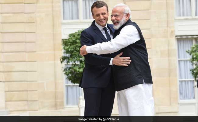 French President Emmanuel Macron To Visit India This Year
