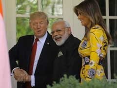 Handshakes, Hugs And Details Of Donald Trump's 'Red Carpet' For PM Modi