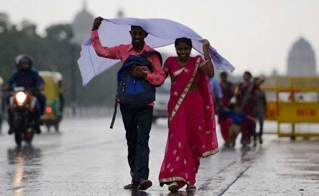 Rains In Delhi Bring Down Temperature, More Showers Expected