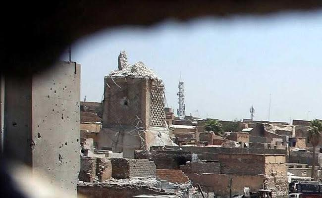 Iraq Military Says It Has Retaken Iconic Mosul Mosque From ISIS