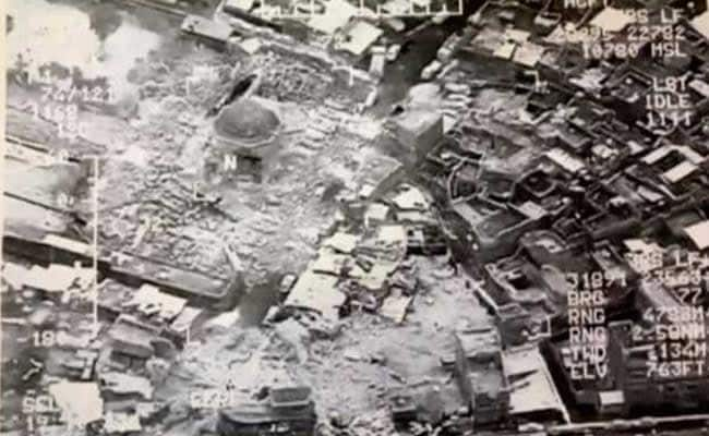 ISIS Blows Up Historic Mosul Mosque Where It Declared 'Caliphate'