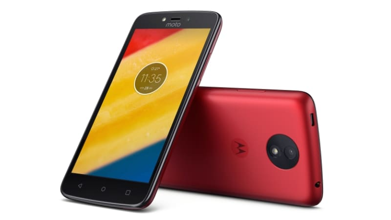 moto c plus metallic cherry