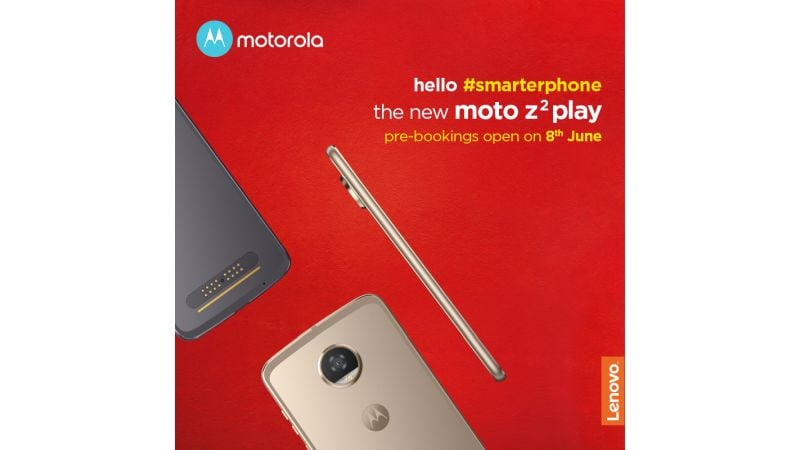 moto z2 play pre booking