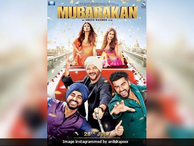 Mubarakan Family Selfie, Starring Anil And Arjun Kapoor, Ileana D'Cruz, Athiya Shetty