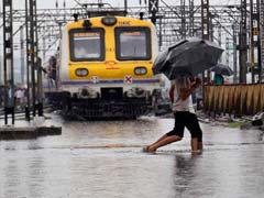 Mumbai Sinks Into Monsoon Chaos, Trains Running Late, Traffic Jams