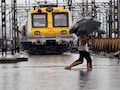 Mumbai Sinks Into Monsoon Chaos, Trains Running Late, Traffic Jams
