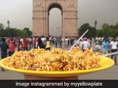 Delhi Blogger Travels Across India To Photograph Food On His Yellow Plate