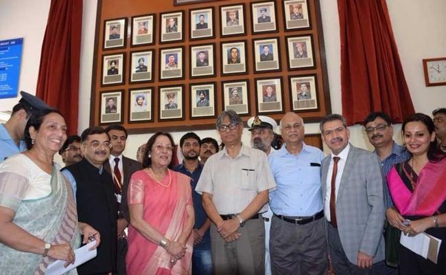 Chancellor Dr Najma Heptulla Unveils 'Wall Of War Heroes' At Jamia Millia Islamia