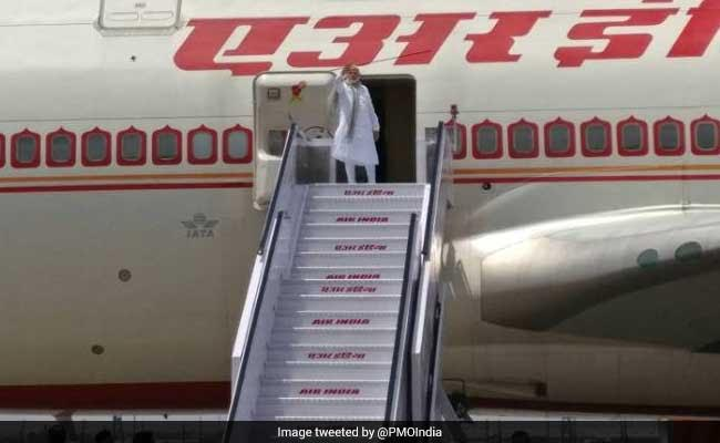 PM Modi Leaves For Kazakhstan To Attend Shanghai Cooperation Organisation Summit