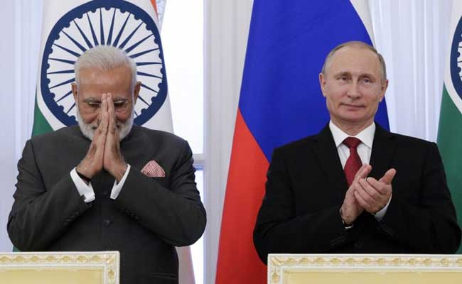 Make With India, PM Modi Tells Russia's Defence Hardware Industry