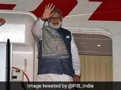 कजाकिस्तान में एससीओ शिखर सम्मेलन के बाद प्रधानमंत्री नरेंद्र मोदी स्वदेश रवाना