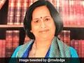 Law Expert Neeru Chadha Becomes First Indian Woman Judge At International Sea Tribunal