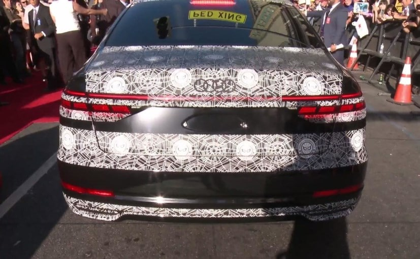 Next Generation Audi A8 Makes An Appearance At Spider Man