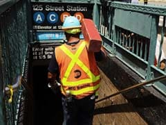 Dozens Injured In New York Subway Train Derailment