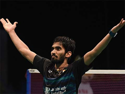 India\'s Kidambi Srikanth beats China\'s Chen Long 22-20, 21-16 in the final to clinch the Australian Open Super Series title