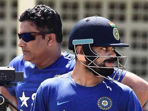 On Anil Kumble quitting as Indian team coach, Virat Kohli says \'It\'s his opinion which I respect\'