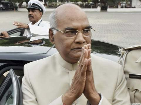 NDA\'s presidential candidate Ram Nath Kovind files nomination, election on July 17. Tap for live updates