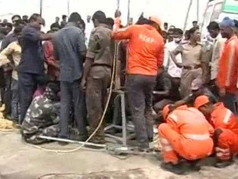 16-month-old girl who slipped into open borewell in Telangana on Thursday dies