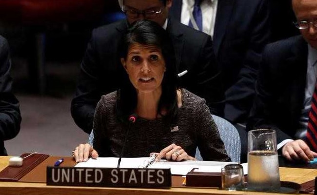 Don't Need Tips From India On Climate Agreement: Nikki Haley