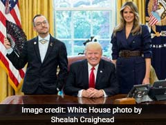 Teacher Explains Decision To Be 'Visibly Queer' In His Photo With US President Donald Trump