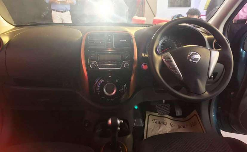 2017 nissan micra with new features launched in india. Black Bedroom Furniture Sets. Home Design Ideas