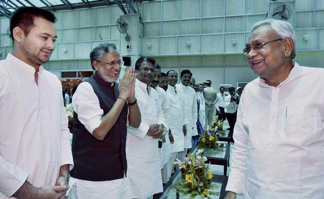 Nitish Kumar Wasting Time Meeting Rahul Gandhi: Sushil Modi