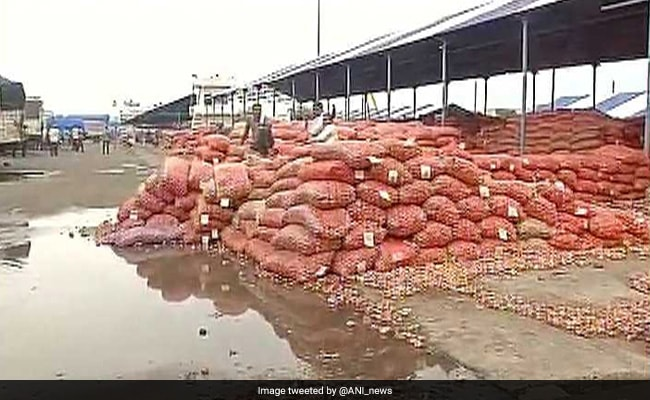 Angry Over Onion Crop Not Getting Sold, Madhya Pradesh Farmers Block Highway