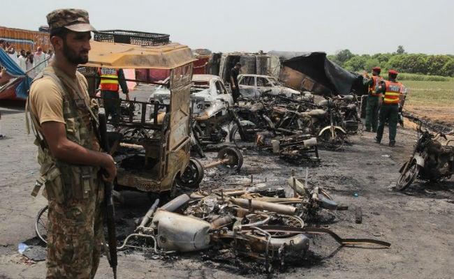 Pakistan PM Nawaz Sharif Cuts Short London Trip After Tanker Blast