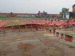 CM योगी के बिहार दौरे से पहले ही गिरा पंडाल, नीतीश ने कहा-खाली हाथ यहां न आएं