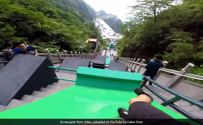 YouTuber Takes On 'World's Largest Parkour Course'. Video Is Dizzying