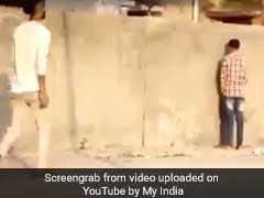 सड़क या दीवारों पर पेशाब करने वालों को मिलेगी ये सजा! 20 दिन में 28 लाख बार देखा गया यह वीडियो
