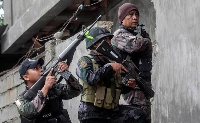 13 Philippine Marines Killed In Battle With Terrorists