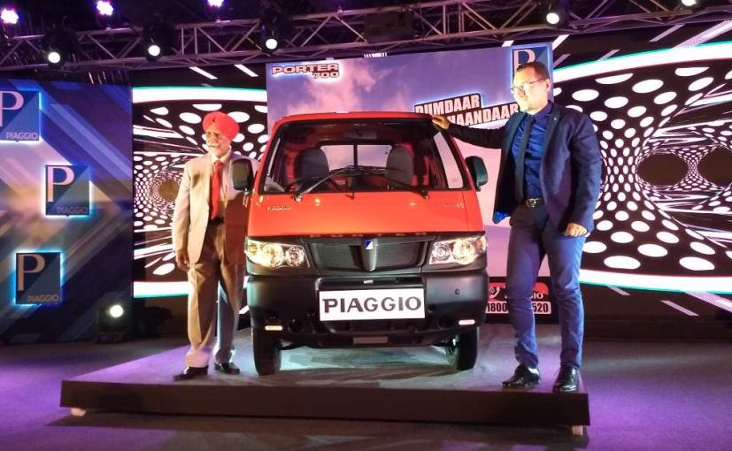 piaggio porter 700 lcv launched in india; prices start at rs. 3.31