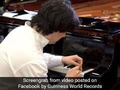 Man Hits Single Piano Key 824 Times In One Minute, Sets World Record