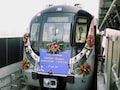Trial Run On Eventually Driverless Delhi Metro Pink Line