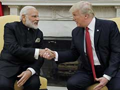 President Trump Greets PM Modi With A Handshake At White House: 10 Points