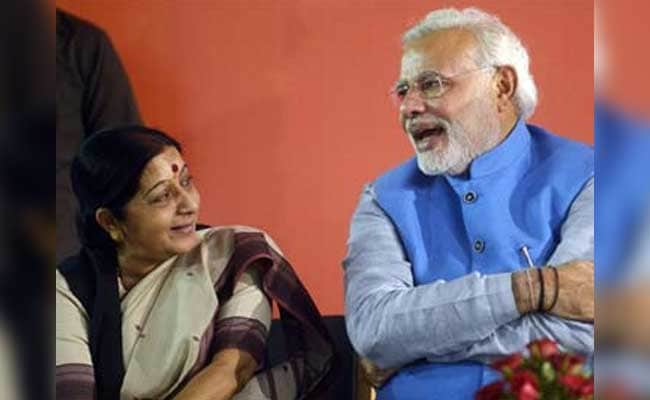 Image result for Sushma swaraj PM Modi
