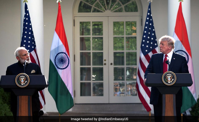 Trump Calls For Removal Of Barriers For US Exports To India